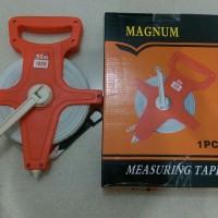 Meteran Tancap / Meteran Roll Fiber Panjang 50 Meter / Measuring Tape