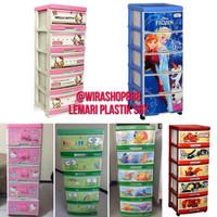 Jual Lemari Plastik Napolly susun 5 Murah