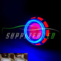 Lampu LED Projie Motor Mobil Hi Low Jauh Dekat Double AE DE RBR