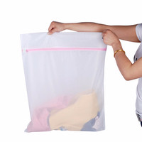 Jual Laundry Net Kantong Cuci Baju Bra 1set Kualitas Ekspor Murah