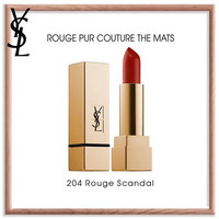 YSL LIPSTICK ROUGE PUR COUTURE THE MATS 204