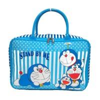 Jual Travel bag doraemon tas travel kanvas renang kotak koper anak dewasa Murah