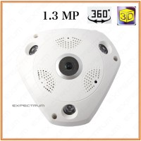 VR CAM 3D / IP Camera VR 360 Wireless Fish Eye 360 Panoramic Lens cam
