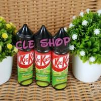 Jual E Liquid premium kickass matcha green tea kitkat 60ml nic3mg Murah