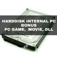 Harddisk PC Internal 500Gb + Full isi Bebas Pilih PC Game, Film, Drama