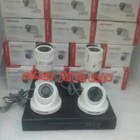 harga Paket Cctv 4chanel Hikvision Turbo Hd 2mp Tokopedia.com
