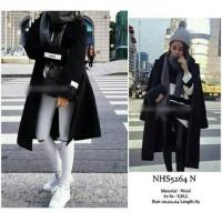 winter long coat korean style fashion import