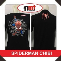 Baju Kaos Spiderman Chibe Home Coming