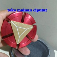 Fidget Hand Spinner ironman gold heart power