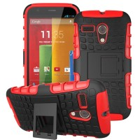 Motorola Moto G X1032 Soft Case Casing Back Cover Bumper Rugged Armor