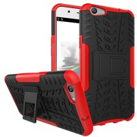 Oppo F1 A35 F1s A59 soft case casing back cover bumper hp RUGGED ARMOR
