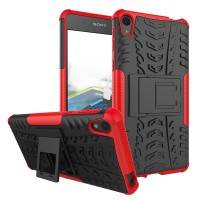 Sony xperia E5 f3311 soft case casing back cover bumper RUGGED ARMOR