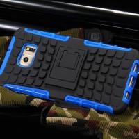 Jual Samsung S6 edge / plus soft case casing back cover bumper RUGGED ARMOR Murah