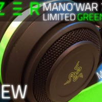 Razer ManO'War 7.1 Wired (Man O War Man O'War ManOWar) Green Edition