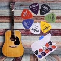 Alice 24pcs Set Pick Acoustic Electric Guitar All Size + Free Case