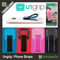 Ungrip Colors Collection Polyester Phone Straps Holder Gantungan HP