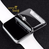 Bumper Transparant Thin Case for Apple Watch 38 42 mm Series 1 & 2