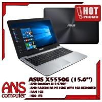 ASUS X555QG-BX121D (NEW) AMD A12-9700P/8GB/1TB/15.6''/VGA 2GB