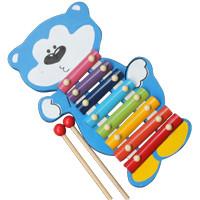 Mainan Kayu Edukatif Kulintang Besi Panda untuk Edukasi Anak 1-2 Tahun