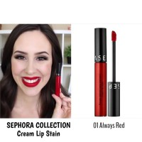 SEPHORA Cream Lip Stain - ALWAYS RED