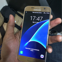 Samsung S7 Flat 32GB Ada Black dan juga Gold Second Like New UNIT ONLY