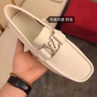 Jual sepatu loafer kulit branded kw pria cowok lv louis vuitton mirror