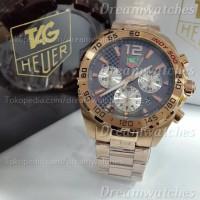 Jam Tangan Pria Tag Heuer Formula 1 Carrera Indy 500 Rosegold Ref 0619