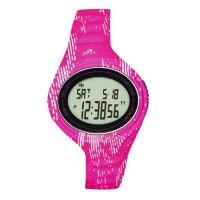 Adidas ADP3183 Adizero Digital Watch Matte Pink Rubber Strap