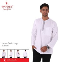 baju koko tangan panjang waydee Urban Fatih Long