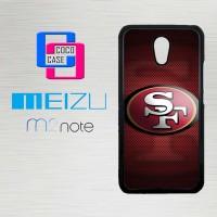 Casing Hp Meizu M2 Note 49ers logo X4360