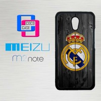 Casing Hp Meizu M2 Note Real Madrid FC X4260