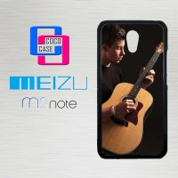 Casing Hp Meizu M2 Note Shawn Mendez Playing Guitar X4406
