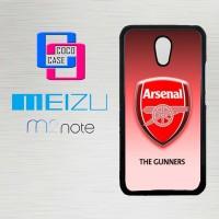 Casing Hp Meizu M2 Note Arsenal FC X4266