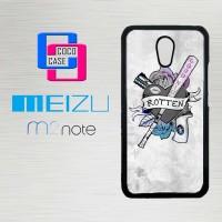 Casing Hp Meizu M2 Note Suicide Squad Logo Hero Art X4502
