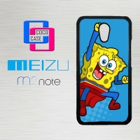 Casing Hp Meizu M2 Note Spongebob Superman X4505