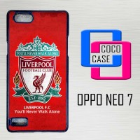 Casing Hardcase Hp Oppo Neo 7 Liverpool Wallpaper X4593