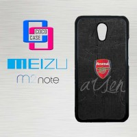 Casing Hp Meizu M2 Note Arsenal Logo X4287