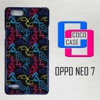 Casing Hardcase Hp Oppo Neo 7 Fox Wallpapers Motocross X4532