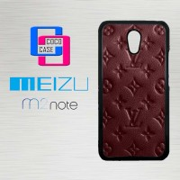 Casing Hp Meizu M2 Note Louis Vuitton Monogram X4432