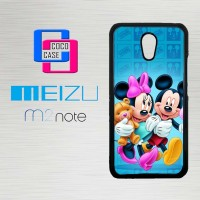 Casing Hp Meizu M2 Note Mickey Mouse X4311