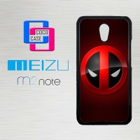 Casing Hp Meizu M2 Note marvel comic deadpool  X4309