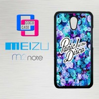 Casing Hp Meizu M2 Note Panic At The Disco Flower X4351