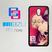 Casing Hp Meizu M2 Note taylor swift red photography X4693
