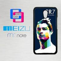 Casing Hp Meizu M2 Note Cristiano Ronaldo X4197