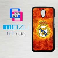 Casing Hp Meizu M2 Note Real Madrid 2016 X4259