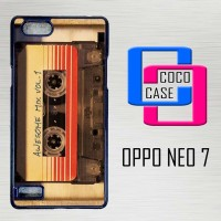 Casing Hardcase Hp Oppo Neo 7 Awesome Guardians Galaxy X4397
