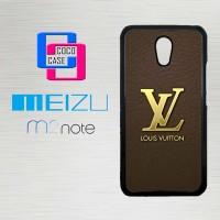 Casing Hp Meizu M2 Note Louis Vuitton start button X4447