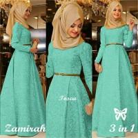 Zamirah 1 Tosca Hijab Terbaru Gamis Terbaru Terlaris Berkualitas