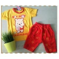Jual Setelan Anak Laki-laki / Winnie the Pooh / Celana Saku / London Kids Murah