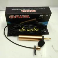 harga Aiwa Condenser Clip On Microphone Aw-221 (mic Jepit / Mic Imam) Tokopedia.com